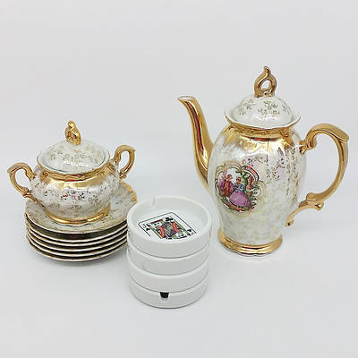 Large Group of Homewares, Including Part Tea Services, Porcelain, Tablewares, and more