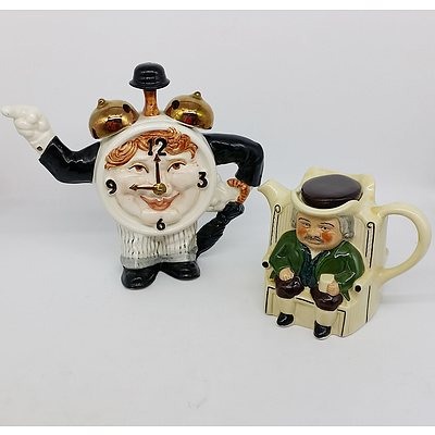 Tony Wood and Prince & Kensington Teapots