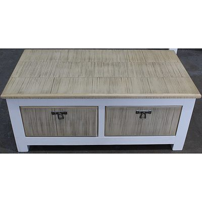 Hamburg Acacia Coffee Table - Brand New