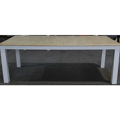 Hamburg Acacia Dining Table - Brand New