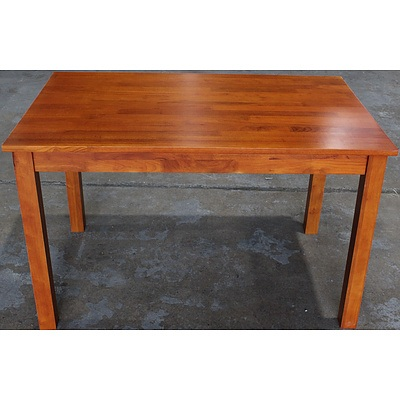 Golden Maple Dining Table - Brand New