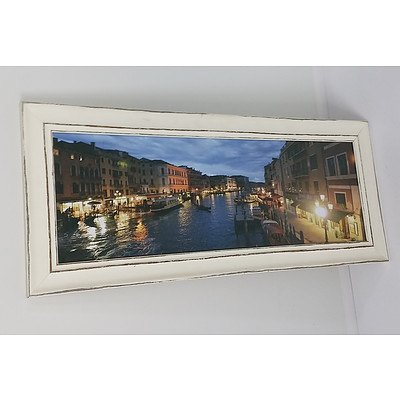 Venice Canal Gicle Print