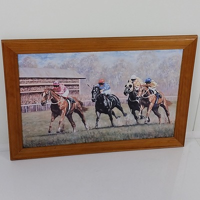 Offset Print of Craig Taylor's Horse Racing