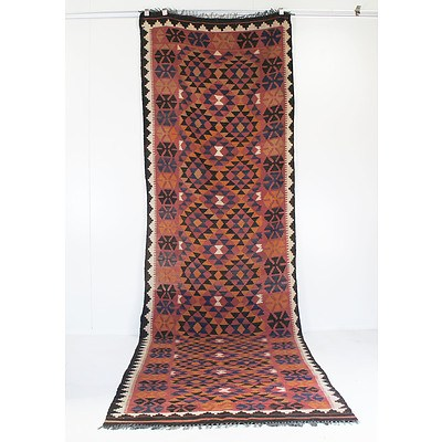 Two Afghan Tribal Kilims