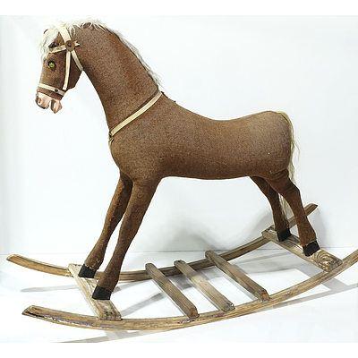 Antique Children's Rocking Horse