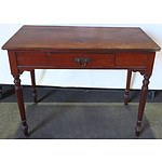 Vintage Mahogany Hall Table