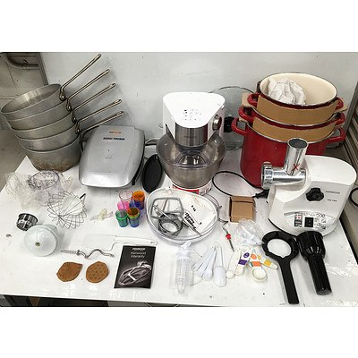 Large Assortment of Kitchen and Cooking Appliances