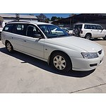 6/2006 Holden Commodore Executive VZ MY06 4d Wagon White 3.6L