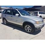 5/2001 Bmw X5 3.0i E53 4d Wagon Silver 3.0L
