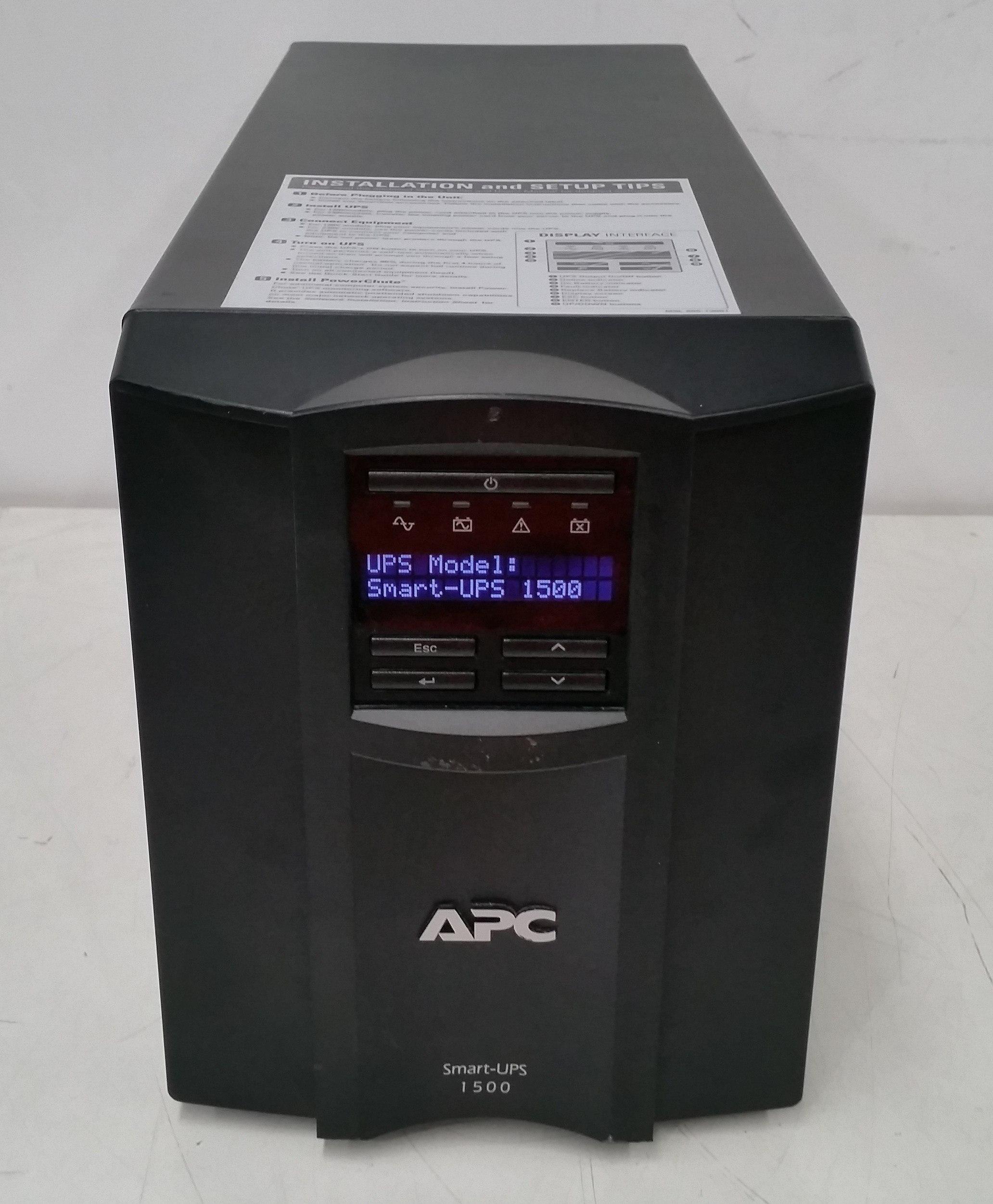 APC Smart-UPS 1500 980W Floorstanding UPS