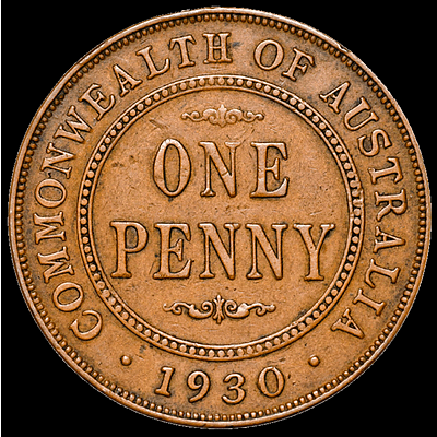 1930 Australian Penny - The KING of Australian Coins