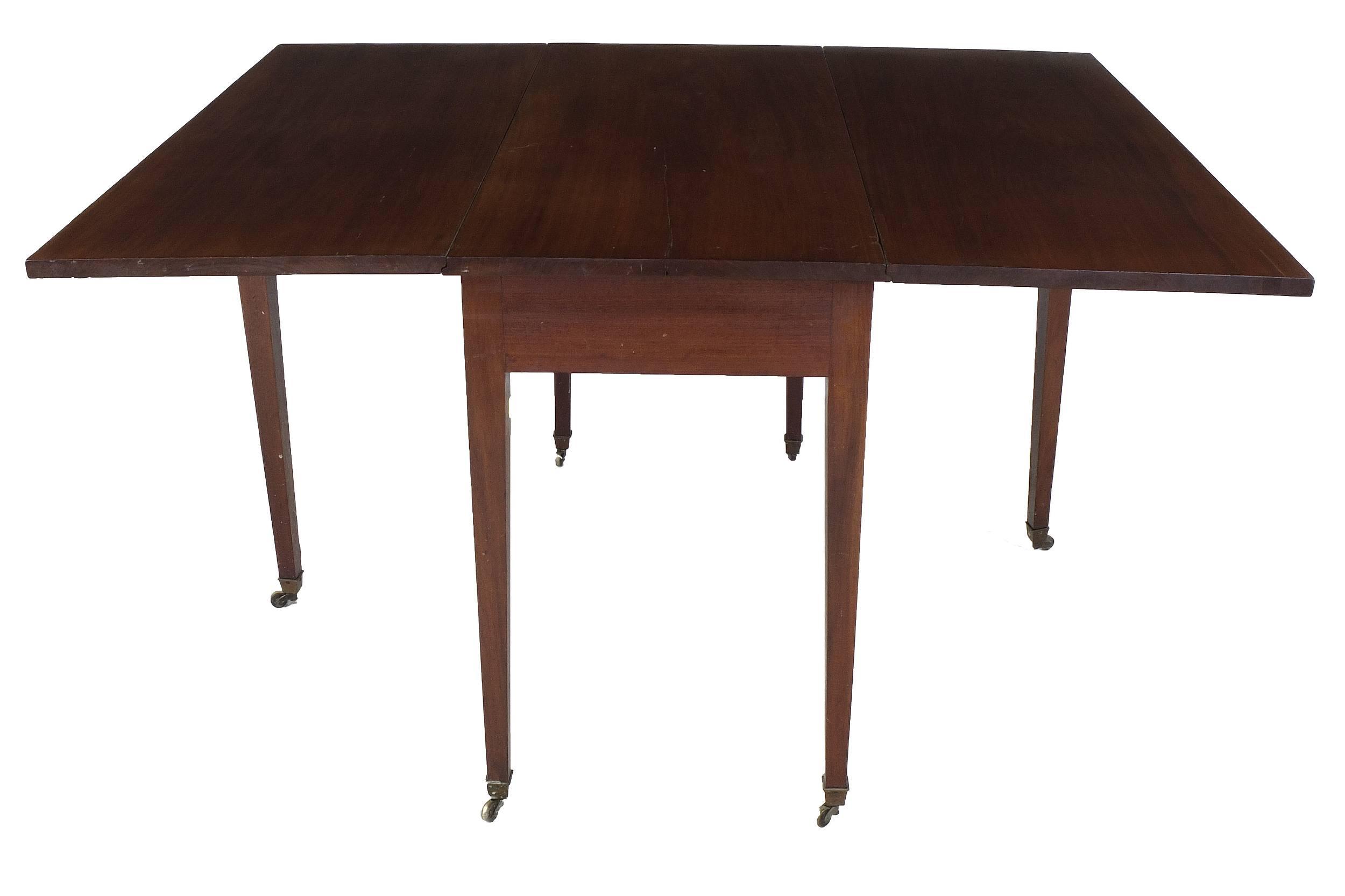 'Georgian Mahogany Dropside Table Circa 1800'