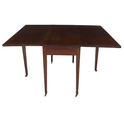 Georgian Mahogany Dropside Table Circa 1800