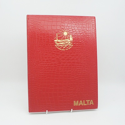 Maltese Stamp Collection 1979-1986