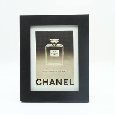 Framed 1953 Chanel No 22 Advertisment