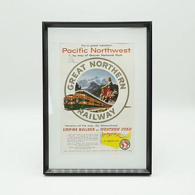 1953 Great Northern Railway Advertisment