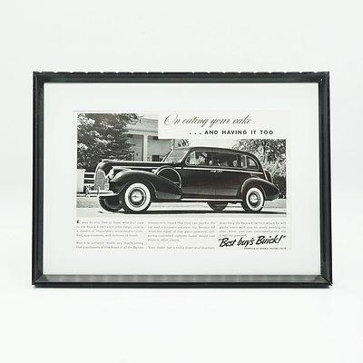 1940 Buick Advertisement
