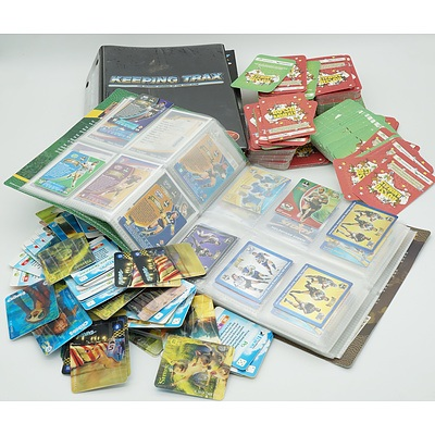 Group of Collector Cards and Keep Trax Magazines