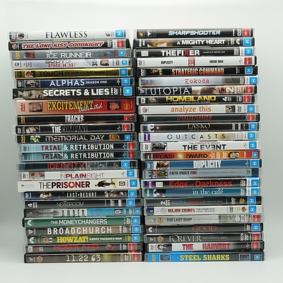 Large Group of DVDs Approx. 150
