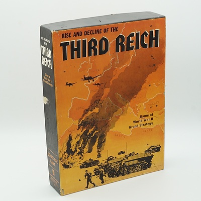 The Rise and Decline of The Third Reich Board Game