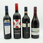 Four Bottles of Red Wine, Including Ninth Island, Two Churches, Barwang and Tin Soldier