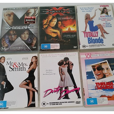 Assorted DVDs - Lot of Approx 150 -2 boxes