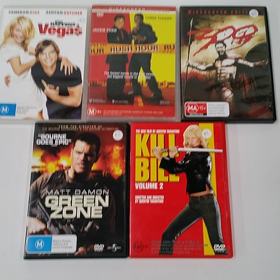 Assorted DVDs - Lot of Approx 110