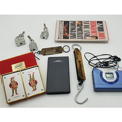 Group of Assorted Collectables Including Fournier Playing Cards and More