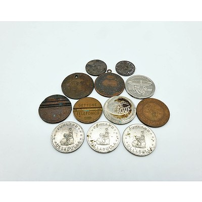 Group of Collectable Coins and Medallions Including Canberra Royal Mint Coin and More