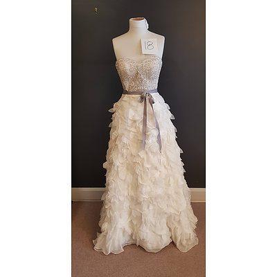 Martina Liana Designer Wedding Dress - Size 12 - Ex Display Gown