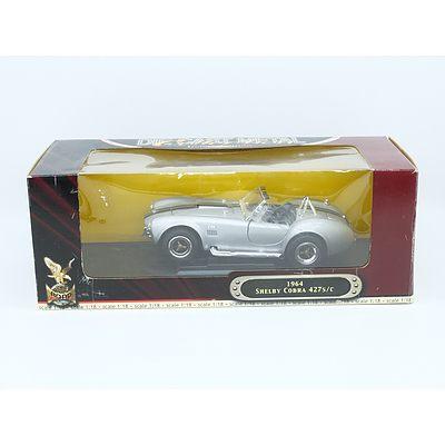 1/18 Die Cast Metal 1964 Shelby Cobra 427s/c