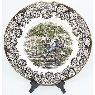 English Robin Hood Collector Plate