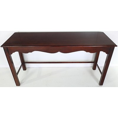 Mahogany Hall Table