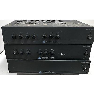 Australian Monitor Power Amplifiers - Lot of 3