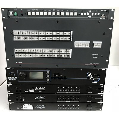 Switchers Processors & Amplifiers - Lot of 6