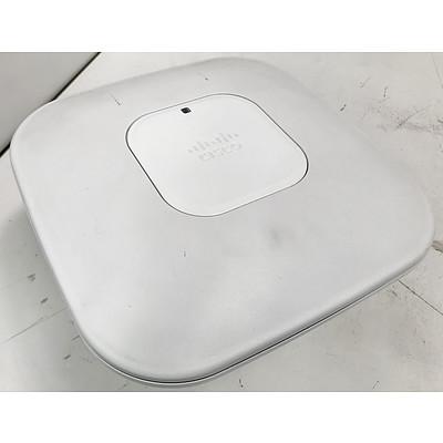 Cisco AIR-CAP3502I-N-K9 Aironet Dual Band Access Points - Lot of 28