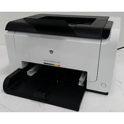 Hp LaserJet Pro CP1025nw Colour Laser Printer