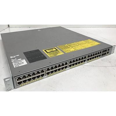 Cisco WS-C4948E V01 Gigabit Switch