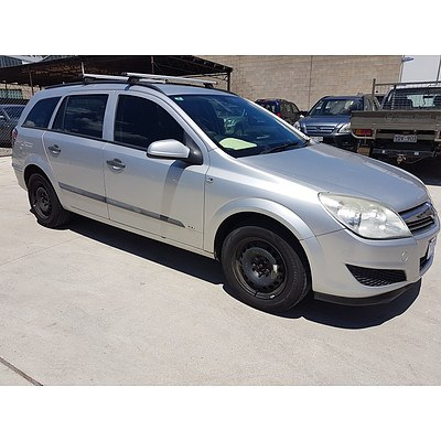 5/2008 Holden Astra CD AH MY08.5 4d Wagon Silver 1.8L