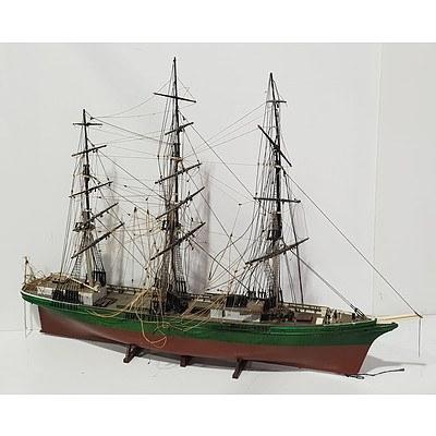 Large Model Sailing Ship
