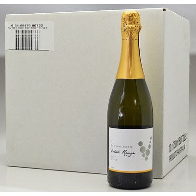 Case of 12x 750ml Bottles Dee Vine Estate NV Brut Cuvee - RRP $190