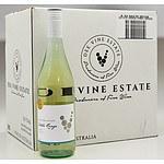 Case of 6x 750ml Bottles 2018 Dee Vine Estate Pinot Grigio - RRP $190