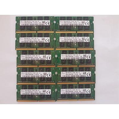 Lenovo Yoga S260 SK hynix 8GB RAM Cards - Lot of 10 RRP $600+