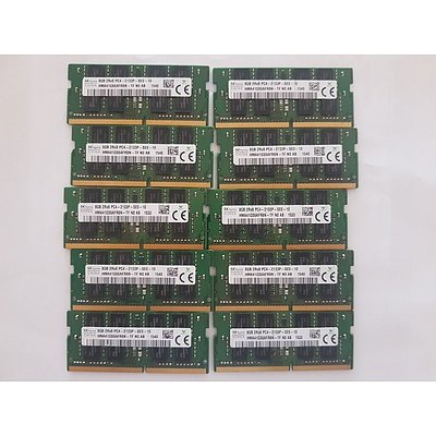 Lenovo Yoga S260 SK hynix 8GB RAM Cards - Lot of 10 RRP $600+