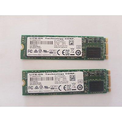 HP Spectre X360 G2 LITE-ON Tech 256GB SSD - Lot of 2 RRP $900+