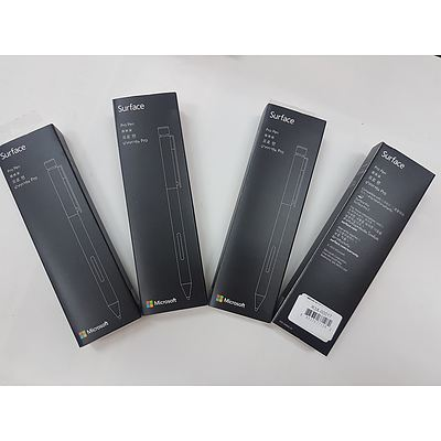 Microsoft Surface Pro Pen Brand New - Lot of 4 RRP $400+