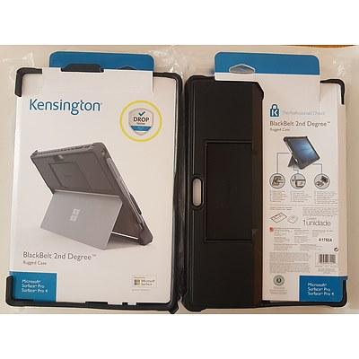 Kensington BlackBelt 2nd Degree Rugged Case for Surface Pro Brand New - Lot of 4 RRP $300+