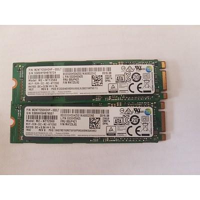 Lenovo Yoga 11E G3/G4/S260 256GB SSD - Lot of 2 RRP $600+