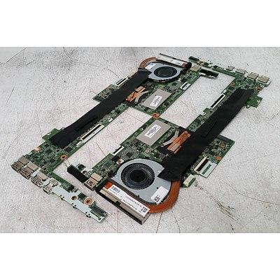 HP Spectre x360 (DAY0DDMBAE0) Core i5 CPU & 4GB RAM Mainboard - Lot of 5
