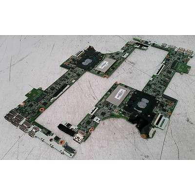 HP Spectre x360 (DAY0DDMBAE0) Core i5 CPU & 4GB RAM Mainboard - Lot of 6